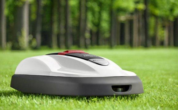 Автоматическая газонокосилка — робот для стрижки травы