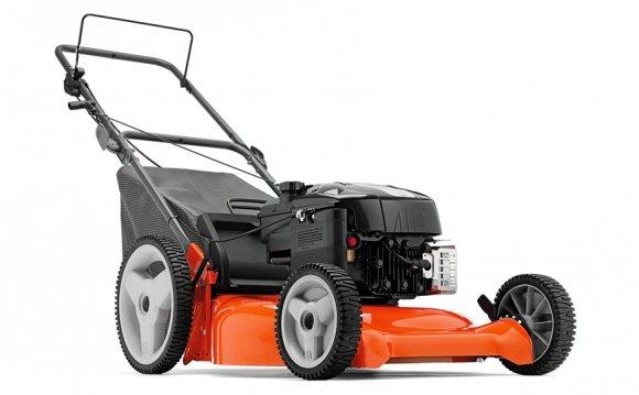Как выбрать газонокосилку на колесах , бензиновую или электрическую